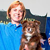Michelle Beardsley and Willow, (MACH7 Blue Moon Shine On Willow) Australian Shepherd; from Leesburg, VA