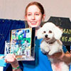 Sierra Schmidt and Balto, (MACH Sennas Baltinator) Bichon Frise; from   Alpharetta, GA