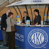 The AKC Information Booth