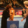 Best-Bred-By-Exhibitor in Show judging - Norfolk Terrier