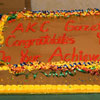 Congratulations cake from the AKC Gazette staff