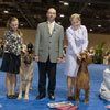 Junior handlers with the Judge