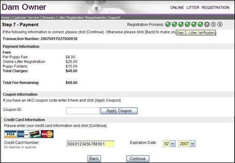 American Kennel Club - Online Litter Registration